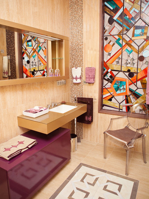 Eclectic Powder Room Design Ideas Remodels Amp Photos