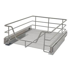 Premium Kitchen Pull-Out Storage Basket, 36 cm
