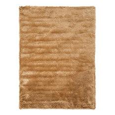 """Safavieh FauxSheep Skin FSS115E Camel Rug, 2'6""""x8'"""