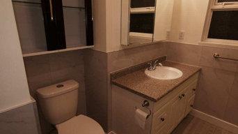 Prior Bathroom Work