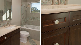 Beach Pebble knobs - Los Altos House