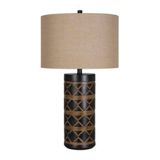 Global Polyresin Table Lamp Set of 2