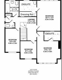 Remove the en suite and dressing room floor plan redesign for Design apartment winterfeldtplatz zietenstr 25a