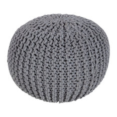 Surya MLPF-004 Indoor Pouf from the Malmo collection