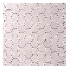 "Alexandria 5.5""x6"" Porcelain Floor and Wall Tile, Blush"