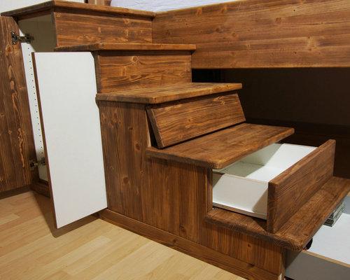 bett mit unterschrank. Black Bedroom Furniture Sets. Home Design Ideas