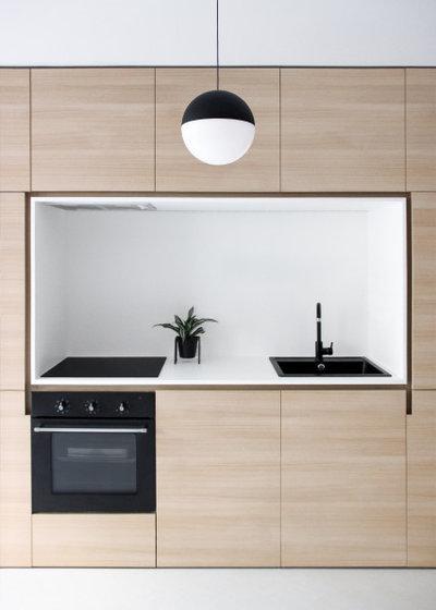 Современный Кухня by ABACO | architecture et design