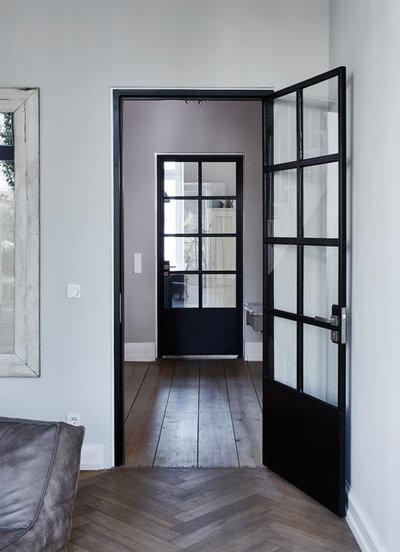 Industrial  Flur by Anja Lehne interior design