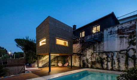 Arquitectura: Un nuevo volumen que salva una relación perdida