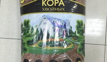 Кора сосны (фракция микс) Дизайнер Цветников 60 л