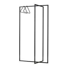 Roomsafari Freestanding Modular Wardrobe Leano, Black