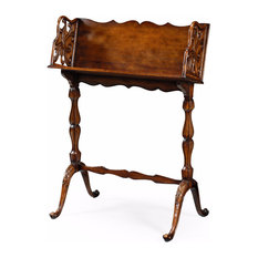 English Walnut Book Stand