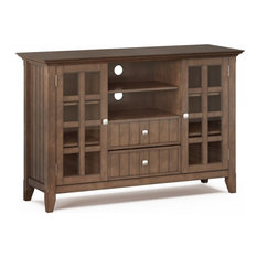 Simpli Home Acadian 53-inch Rustic Solid Wood TV Stand In Rustic Natural Aged Brown