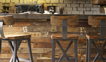 Highest-Rated Rustic and Industrial Bar Stools