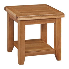 Otago Lamp Table, Without Drawer