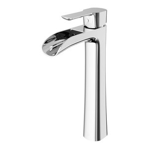 VIGO Niko Bathroom Vessel Faucet, Chrome
