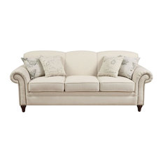 Coaster Norah Antique Inspired Sofa With Nail Head Trim
