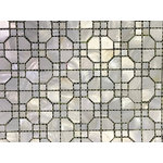 CHOIS - A401 Mother Of Pearl Shell Backsplash Tiles Personality Square Mosaic Tiles - Note: If you have any concerns that these tiles will not be suitable for your particular application,please buy a sample first to make sure.