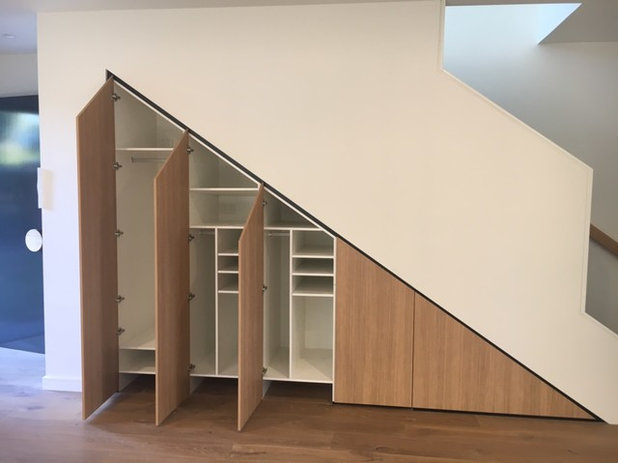 Contemporary Staircase by Minett Studio Architecture and Design