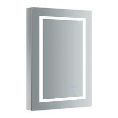"Fresca Spazio 24""x36"" Bathroom Medicine Cabinet With LED Lighting and Defogger"
