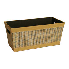 WALD IMPORTS   Wald Imports Multi Faux Leather Decorative Storage/Organizer  Tray   Storage Bins