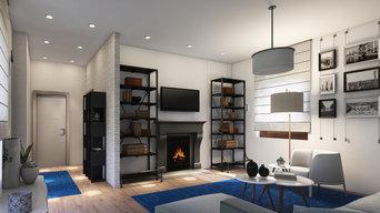 Progetto di restyling di un appartamento di 100 mq