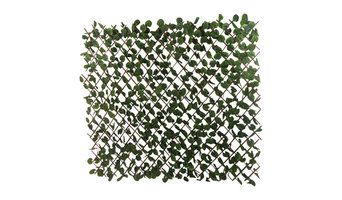 Expandable Faux Ivy  Leaves Privacy Fence, Set of 2