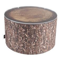 Tree Stump Heavyweight Pouffe/Coffee Table, Forest
