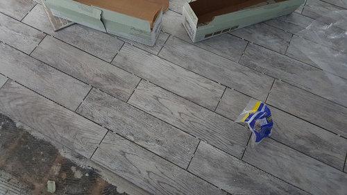 Porcelain Wood Plank Floors