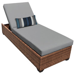 Tropical Outdoor Chaise Lounges by Design Furnishings