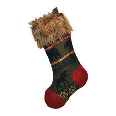 Rustic Christmas Stockings | Houzz