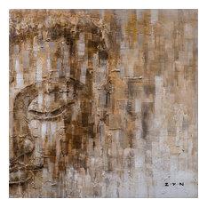 The Life of Buddha II- Hand Painted Canvas Art