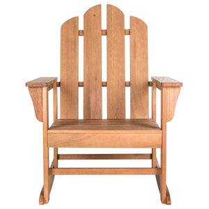 Awe Inspiring Safavieh Clayton Outdoor Rocking Chair Farmhouse Outdoor Ocoug Best Dining Table And Chair Ideas Images Ocougorg