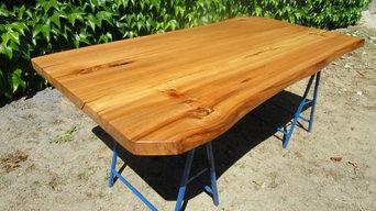 Tischplatte Ulme/Rüster
