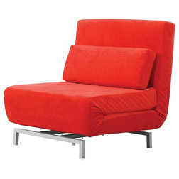 contemporary armchairs and accent chairs by hedgeapple shop houzz  not your college futon  rh   houzz