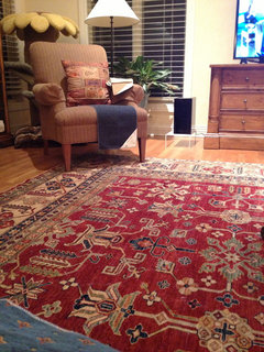 I Purchased Mine From Mayfair Furniture In Crystal Lake Illinois...it Is A  Tribal Rug. Mine Has More Medallions But Very Similar In Look.