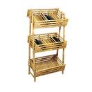 Bamboo Wine Tray Rack Or Knick Knack Rack