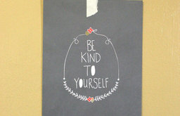 Be Kind To Yourself Art Print 2 by My Little Buffalo Design