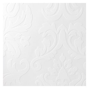 Paintable Solutions V by Brewster 2780-32808 Plouf Paintable Damask Wallpaper
