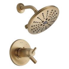 Delta Trinsic TempAssure 17T Series H2Okinetic Shower Trim, Champagne Bronze