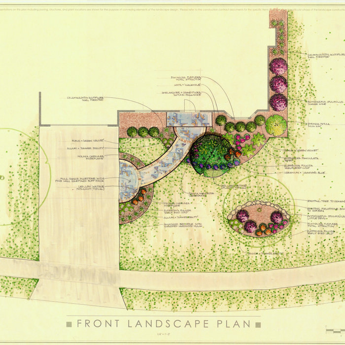 Traditional Front Landscape - Port Washington, WI