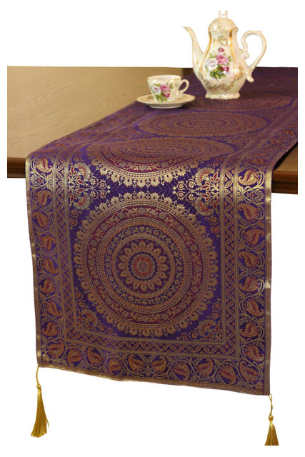 Superieur Exotic Oriental 70 X16 Table Runner Asian Runners By