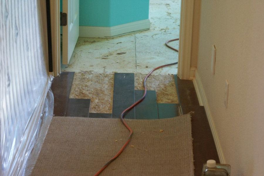 Wood flooring addition