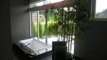 Asian bath completed for Sockeye Homes