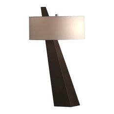 NOVA Of California   Obelisk Table Lamp, Chestnut   Table Lamps