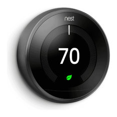 Nest Thermostat: 3rd Generation 'Learning' Thermostat, Brass