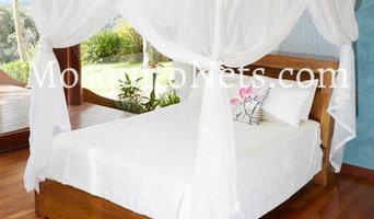 Cotton mosquito net