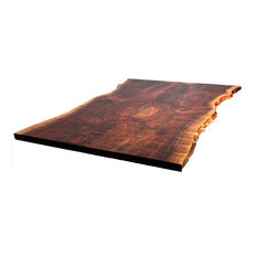 Claro Live Edge Dining Table Top