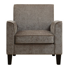 Transitional Upholstered Accent Chair