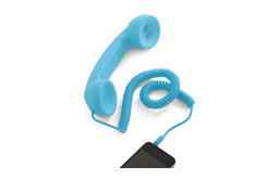 Call to Charm Cell Phone Handset in Blue